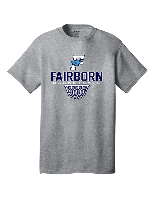 Fairborn Basketball - Crew Tee (Athletic Heather)