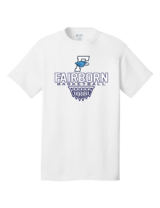 Fairborn Basketball - Crew Tee (White)