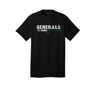 Fort Thomas Generals - Core Cotton Tee (Black)