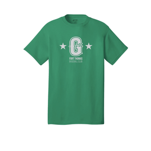 Fort Thomas Generals - Core Cotton Tee (Kelly Green)