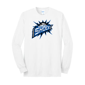 Cincy Shock Logo LS Tee (White)