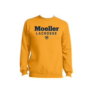 Moeller Lacrosse - Core Fleece Crewneck (Gold)
