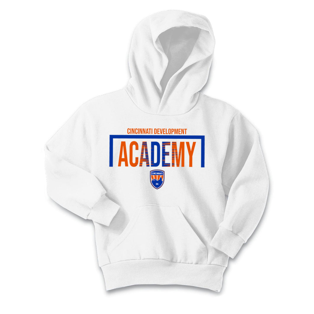 CDA - Essential Fleece Pullover Hooded Sweatshirt (White)
