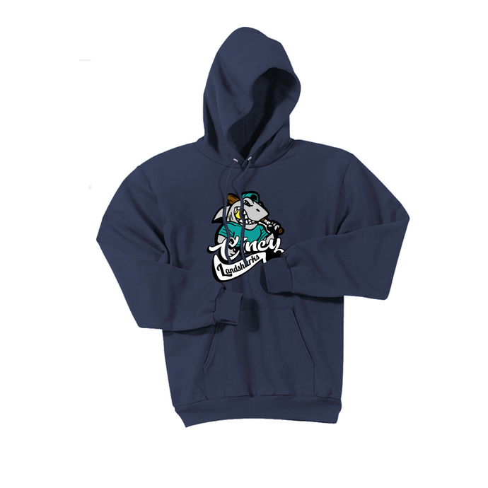 Cincy Landsharks - Fleece Pullover Hooded Sweatshirt (3 Colors)