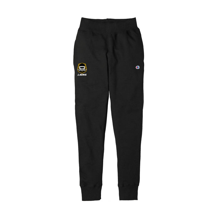 Salem Lions Football - Champion Reverse Weave Jogger (Black)
