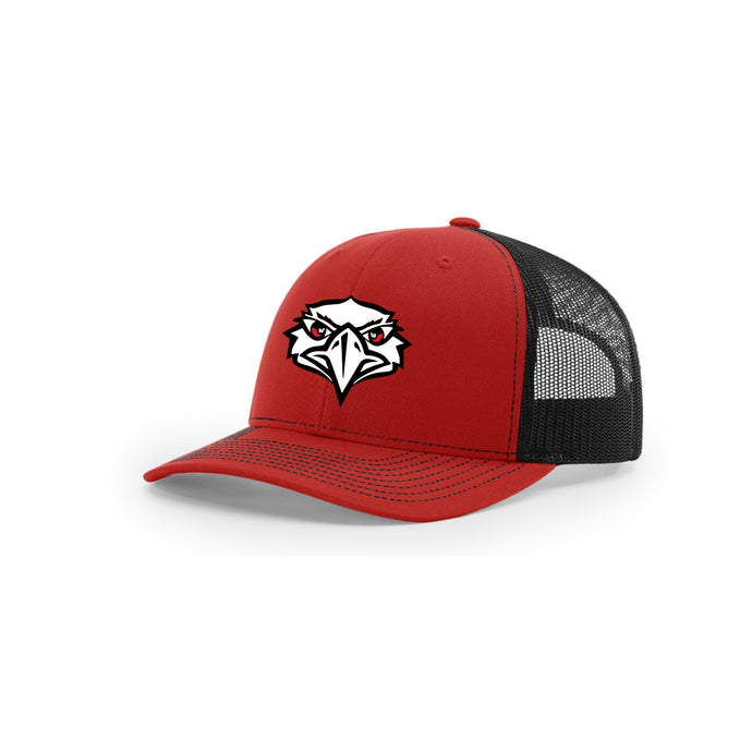 Lakota West Football - Richardson Trucker (Red/Black)