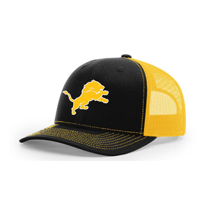 Salem Lions Football - Richardson Trucker (Black/Gold)