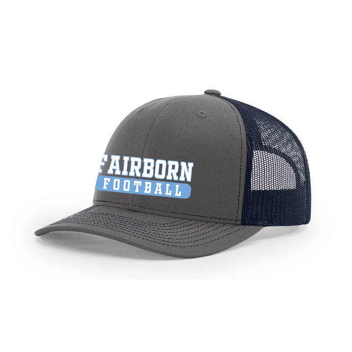 Fairborn Football 2020 - Richardson 112 Trucker Hat (Charcoal/Navy)