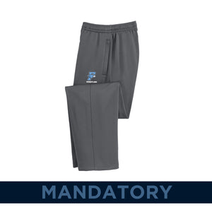 Fairborn Wrestling 2020 - Sport-Wick Fleece Pant (Dark Smoke Grey)
