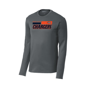 Brokerage Chargers 2020 - Sport-Wick Fleece Pullover Crew (Dark Smoke Grey)
