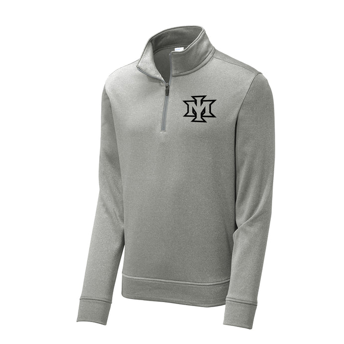 Ironmen Midwest Heather Fleece 1/4 Zip