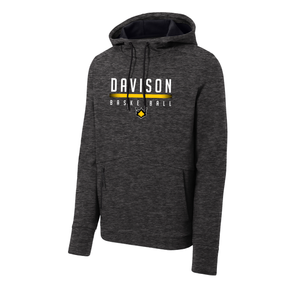 Davison Basketball - Triumph Hooded Pullover (Black Heather)