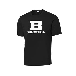 Badin Girls Volleyball 2020 - PosiCharge Competitor Tee (Black)