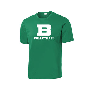 Badin Girls Volleyball 2020 - PosiCharge Competitor Tee (Kelly)