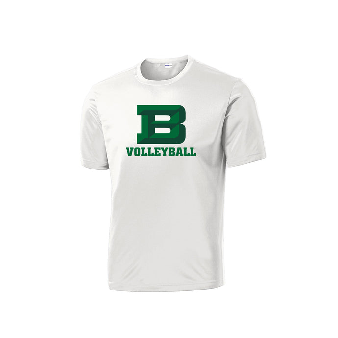 Badin Girls Volleyball 2020 - PosiCharge Competitor Tee (White)