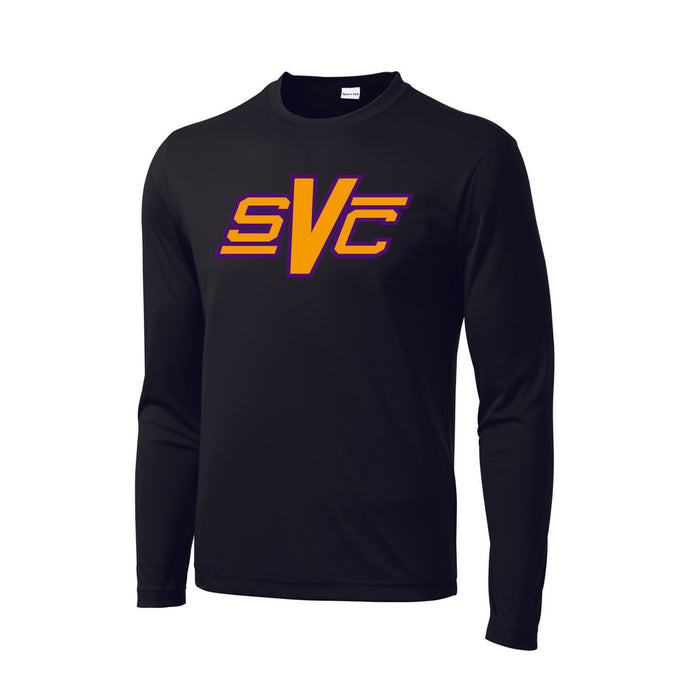 SVC Dri Fit LS Tee (Black)