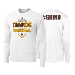Roger Bacon State Champs - Dri Fit LS Tee