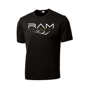 RAM Academy - Dri Fit Tee (Black)