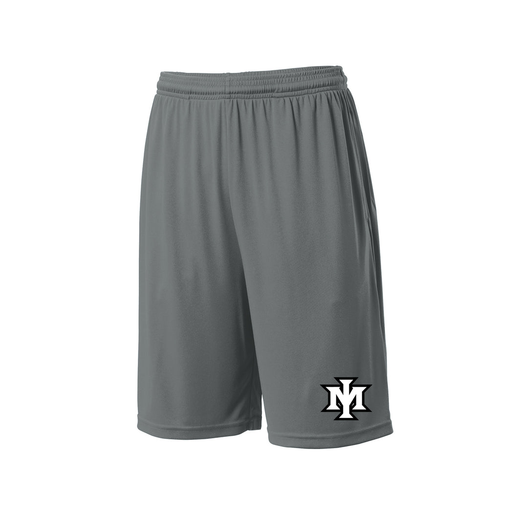Ironmen Midwest Pocketed Short (Iron Grey)
