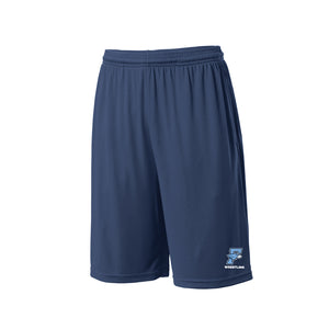 Fairborn Wrestling 2020 - PosiCharge Competitor Pocketed Short (True Navy)