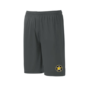5 Star Baseball - Pocketed Short (Iron Grey)