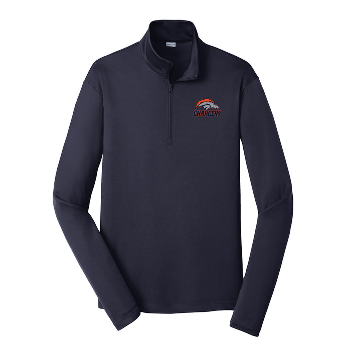 Brokerage Chargers - Competitor 1/4 Zip Pullover (True Navy)