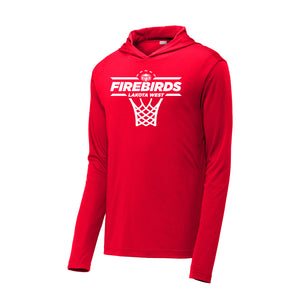 Lakota West Boys Basketball 2020 - Competitor Hooded Pullover (Red)