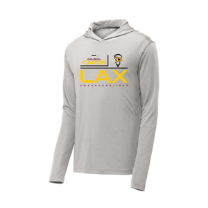 Davison Lacrosse 2021 - PosiCharge Competitor Hooded Pullover (Silver)