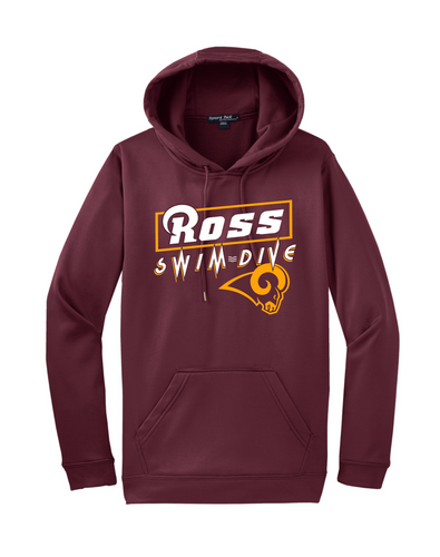 Ross Swimming and Diving Hoodie