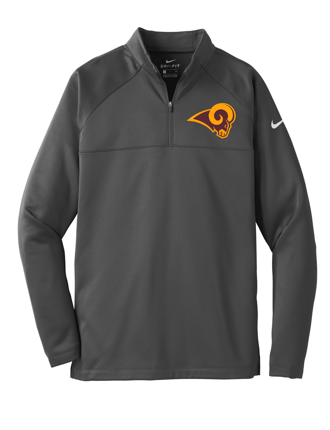 Ross Swimming and Diving Nike Therma-FIT Fleece 1/4 Zip