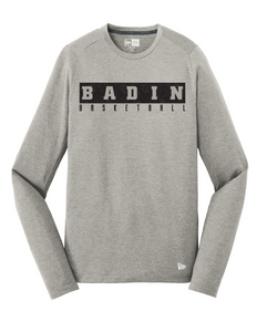 Badin Basketball New Era Performance Tee LS