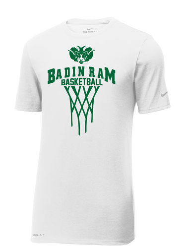 Badin Basketball Nike Dri-FIT Tee SS