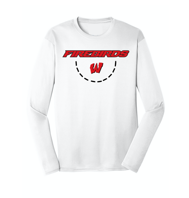West Basketball No Quit Dri Fit LS