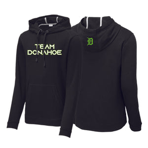 Team Donahoe Tri-Blend Wicking Fleece Hooded Pullover