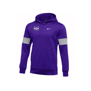 Middletown Athletics - Nike Therma Hoodie (Purple)