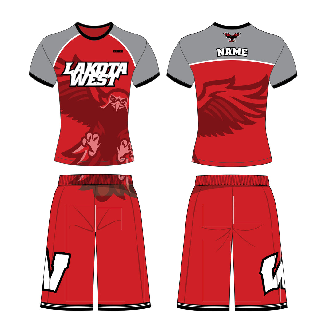 Lakota West Wrestling - Full Custom HDLNS Compression Top and Fight Shorts