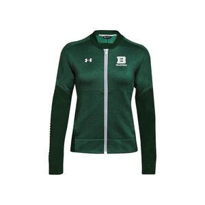 Badin Girls Volleyball 2020 - UA Qualifier Hybrid Warmup Jacket (Forest Green)