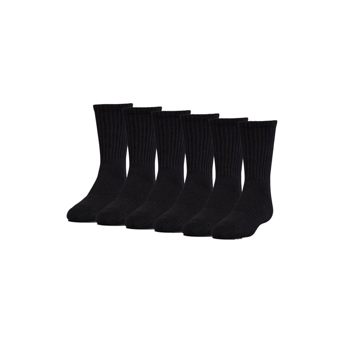 The Summit Volleyball - UA Charged Cotton Crew Socks (Black)
