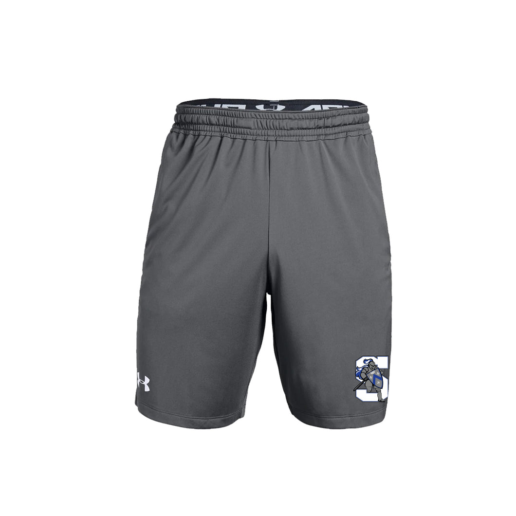 The Summit Volleyball - UA M's Pocketed Raid Short (Graphite)