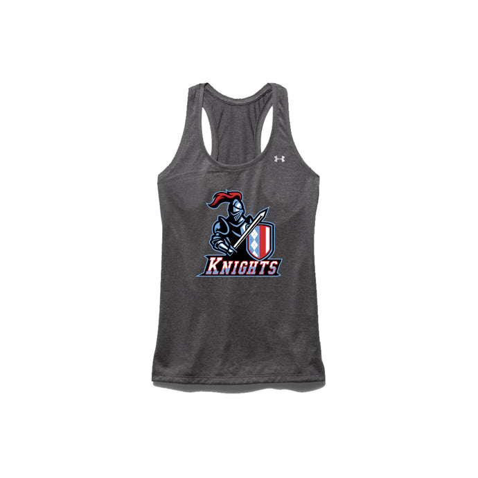 Kings Youth Football - Women's UA Tech Tank (Carbon Heather)