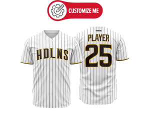 Headlines Custom Baseball Jersey MLB Padres