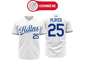 Headlines Custom Baseball Jersey MLB Royals
