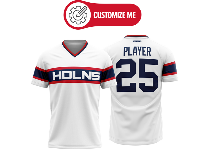 Headlines Custom Baseball Jersey MLB White Sox Retro