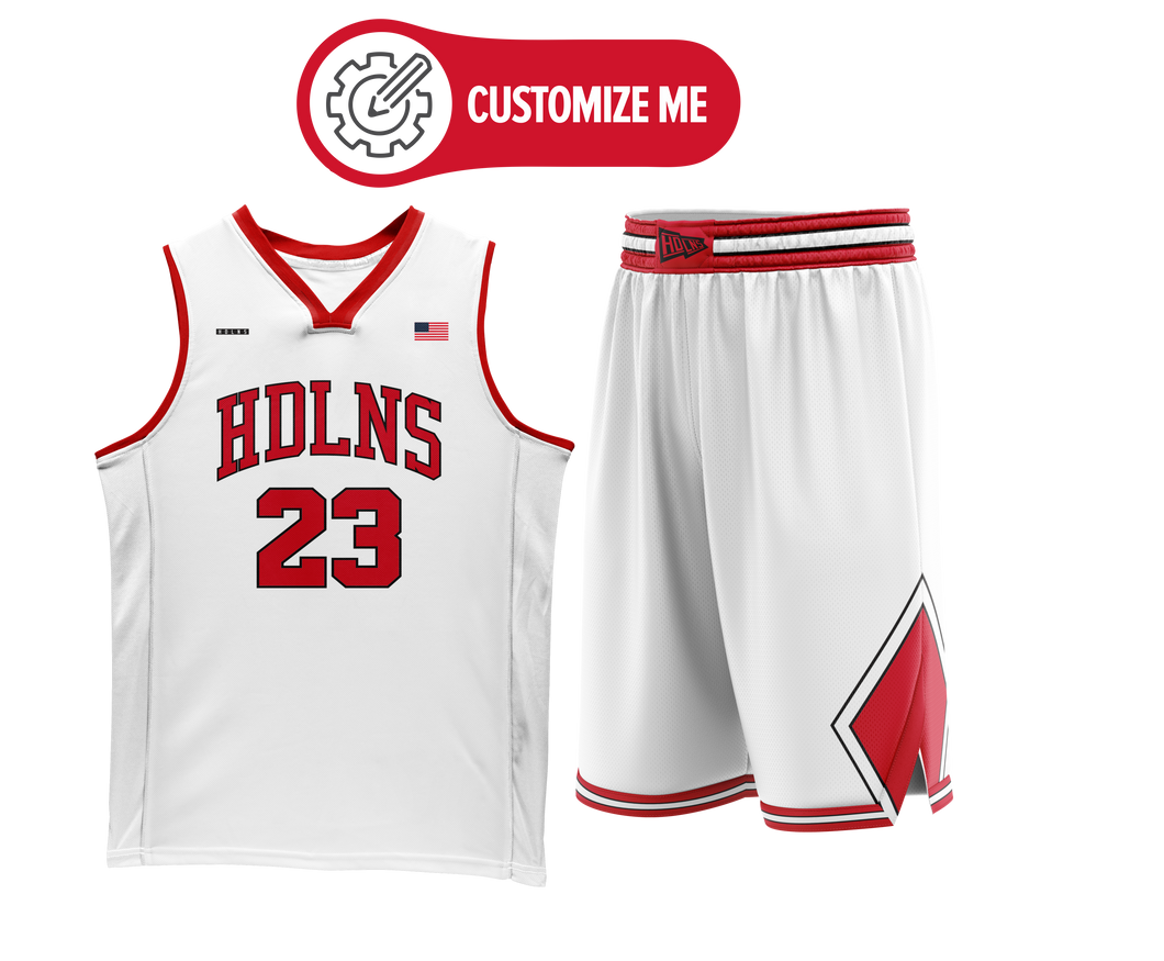 Headlines Custom Basketball Jersey NBA Bulls