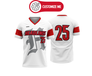 Headlines Custom Baseball Jersey NCAA Louisville