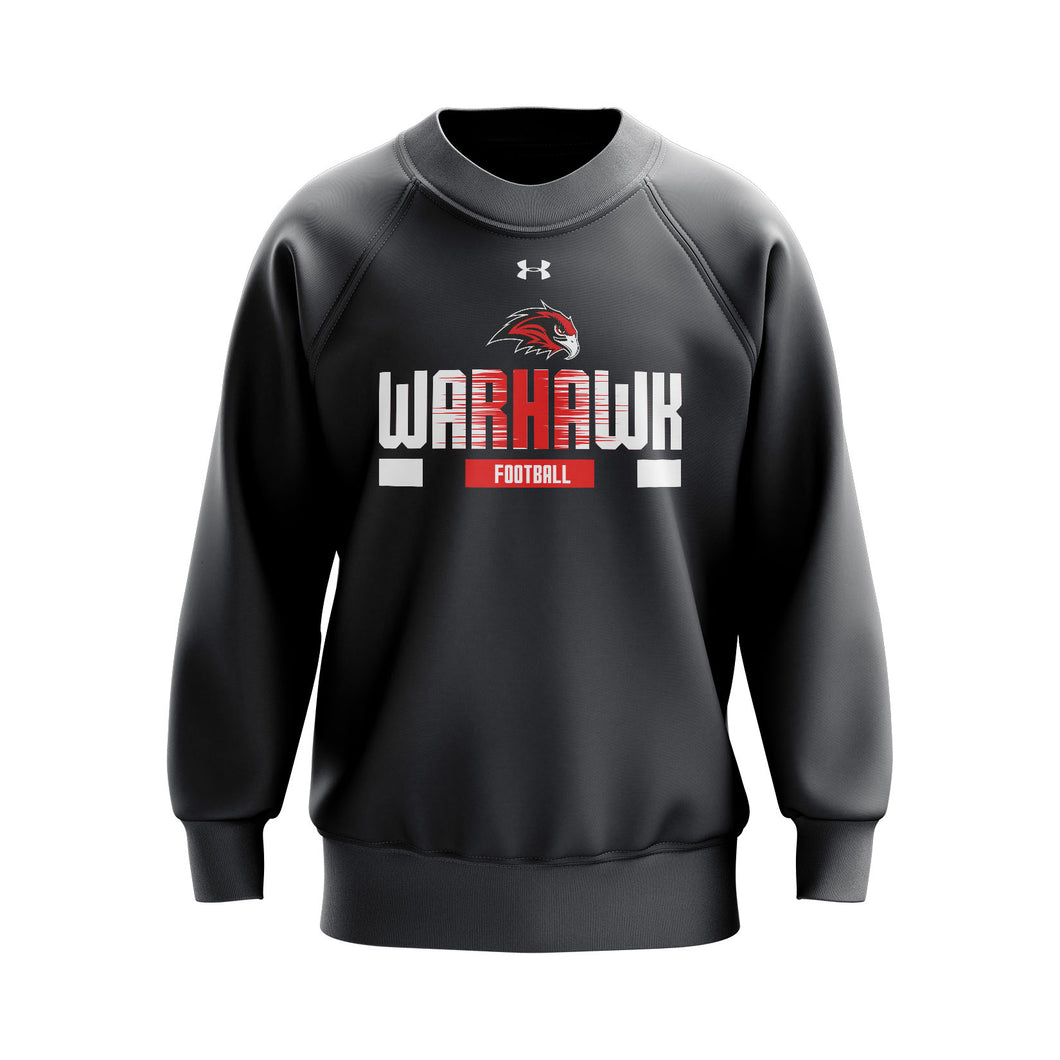 Warhawk Football UA Hustle Fleece Crew