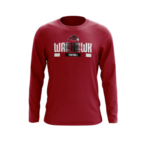 Warhawk Football Long Sleeve Tee