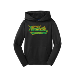 Cincinnati Riverbats - Youth Fleece Hooded Pullover
