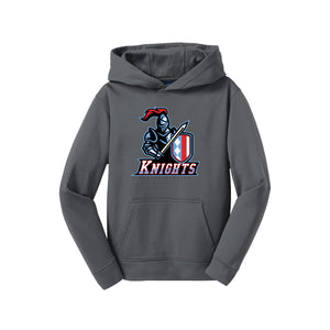 Kings Youth Football - Hoodie (Dark Smoke Grey)