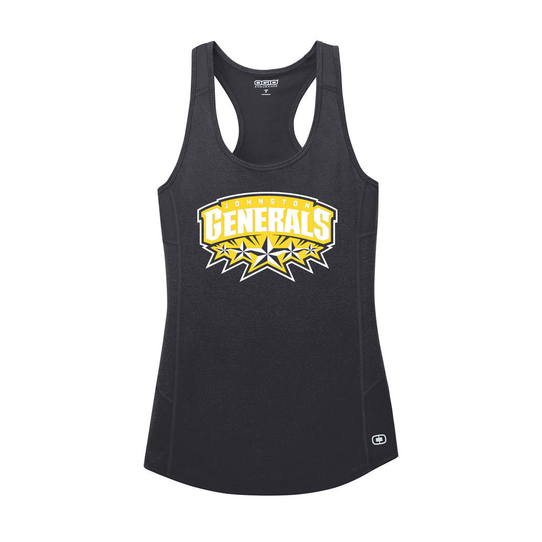 Johnston Generals OGIO ENDURANCE Ladies Racerback Tank